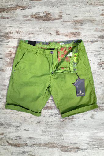S19SH001   0021 CHINO SHORT BASIC - 100%CO Kiwi - Light Green