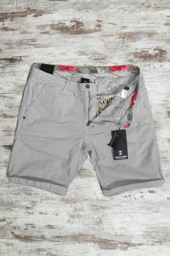 S19SH001   0061 CHINO SHORT BASIC - 100%CO Gray