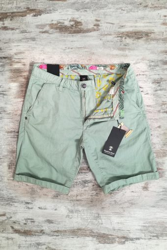 S19SH001   0070 CHINO SHORT BASIC - 100%CO Sage Green - Green