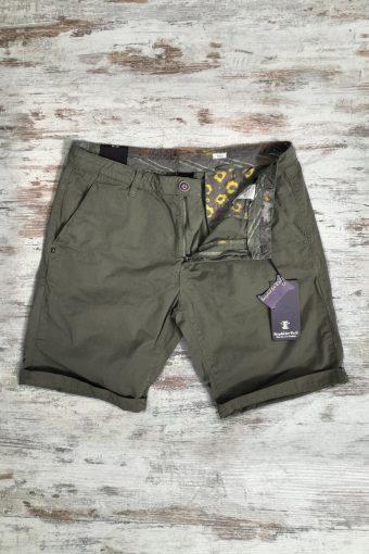 S19SH001   0071 CHINO SHORT BASIC - 100%CO Military Green