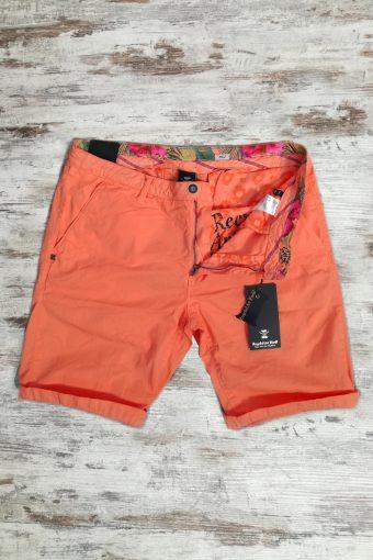 S19SH001   0080 CHINO SHORT BASIC - 100%CO Orange