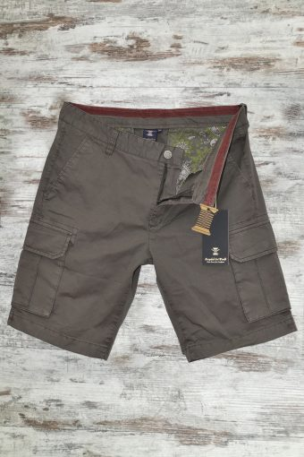 S19SH008   0040 CARGO SHORT BASIC - 98%CO 2%EA Brown