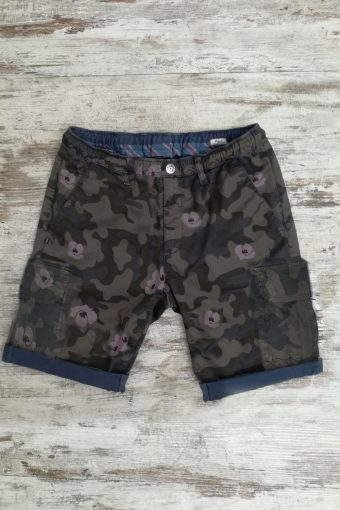 S19SH010K  0002 CARGO SHORTS COMOUFLAGE - 98%CO 2%EA Blue