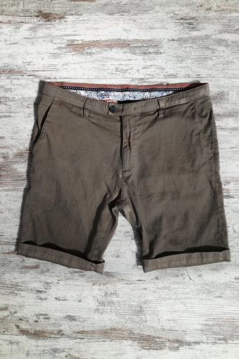 S19SH020   0040 CHINO DOBBY - 100%CO Brown