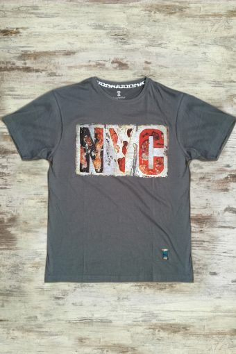 S19T002    0001 T-SHIRT NYC - 100%CO Anthracite