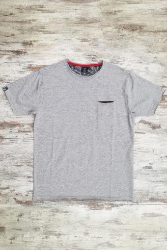 S19T033    0037 T-SHIRT CREW - 100%CO Grey Melange