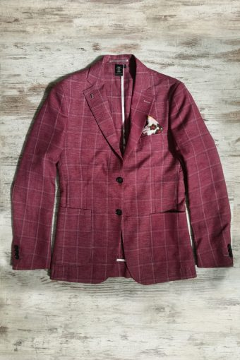 S19J030    0083 BLAZER SUMMER - 50%CO 40%PES 10%VI Bordeaux