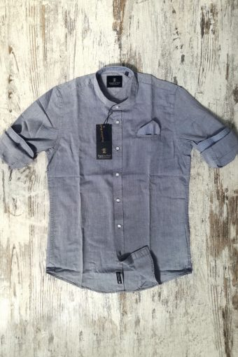 S19S002K   0002 SHIRT OXFORD KOREAN - 100%CO Blue