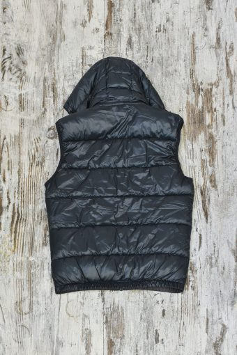A19MJ014   0081 FAKE-DOWN GILET - 100%NY Piombo - Urban Chic