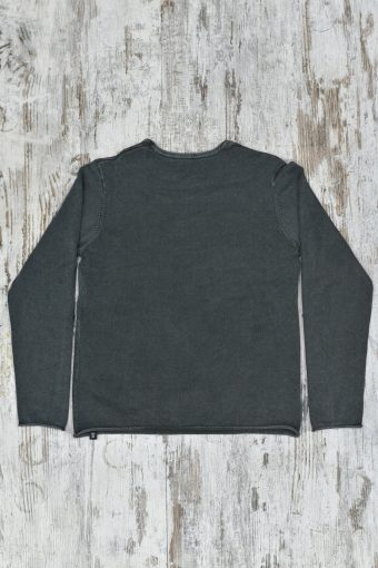 A19MM009   0081 SWEATER JACK - 100%CO Piombo - Urban Chic