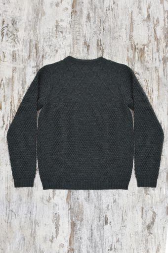 A19MM021   0081 SWEATER STEVE - 85%AC 15%WO Piombo - Urban Chic