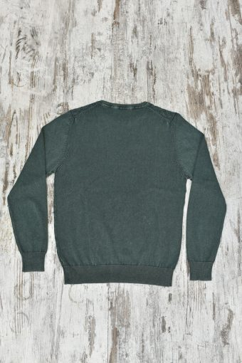 A19MM032   0053 SWEATER MODAL 01 - 60%CO 40%MD Army Green - Beetle