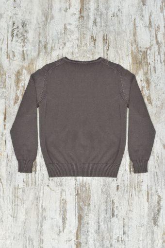 A19MM033   0069 SWEATER MODAL 02 - 60%CO 40%MD Cord - Squirrel