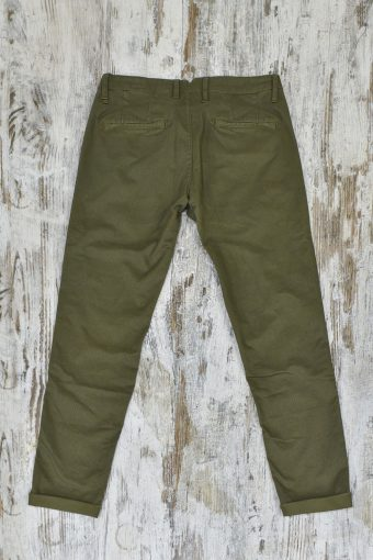 A19MP003   0071 PILOT CHINO AOP03 - 98%CO 2%EA Military Green