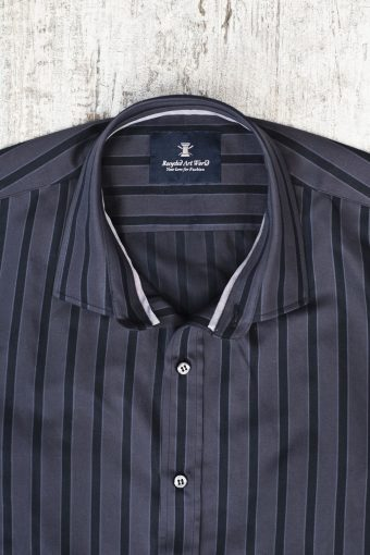 A19MS015   0001 SHIRT COPENAGHEN - 100%CO Anthracite