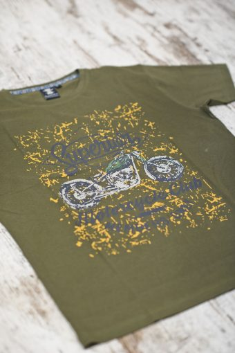A19MT006   0071 T-SHIRT SUPERIOR - 100% CO JERSEY 30/1 Military Green