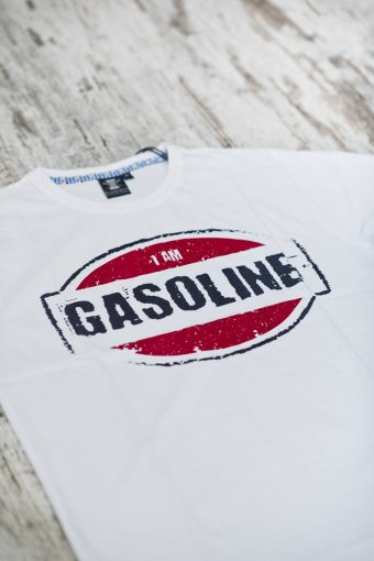 A19MT007   0050 T-SHIRT GASOLINE - 100% CO JERSEY 30/1 Optical White