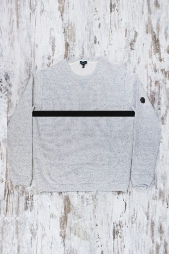 A19+MF008NW0037 FLEECE DOTTED WITHOUT WINSTOPPER INSIDE - 80%CO 20%PL Gray Melange