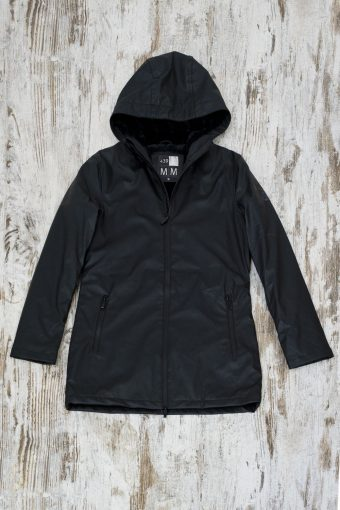 A19+MJ008  0090 JACKET RAIN - Black