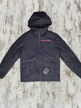 A19+MJ017  0090 JACKET CITY - 100%PL Black