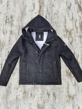 A19MJ034   0001 JACKET EASY WINTER - 80%WL 20%PA Anthracite