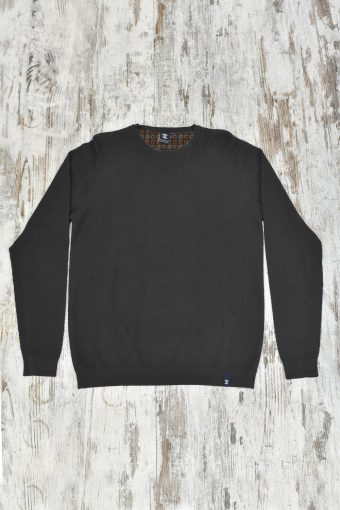 A19MM023   0001 SWEATER MARTIN - 40%AC 40%VI 20%NY Anthracite