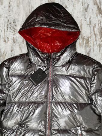 A19+MJ016  0015 FAKE-DOWN MOON REVERSIBLE - 100%NY Silver
