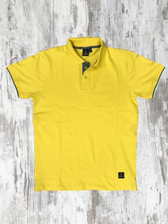 S20PS008   0010 POLO JAQUARD - 95%CO 5%EL PIQUET Yellow