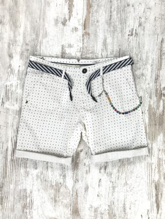 S20SH007   0050 CHINO SHORTS AOP07 - CO/EA Optical White