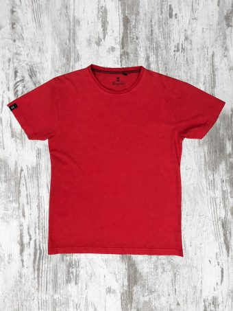 S20T002    0094 T-SHIRT STONE - 100% CO Red - True Red