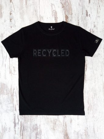 S20T009    0090 T-SHIRT NETWORK 02 - 95% CO 5% LY Black