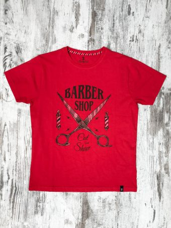 S20T033    0094 T-SHIRT CUT - 100% CO Red - True Red