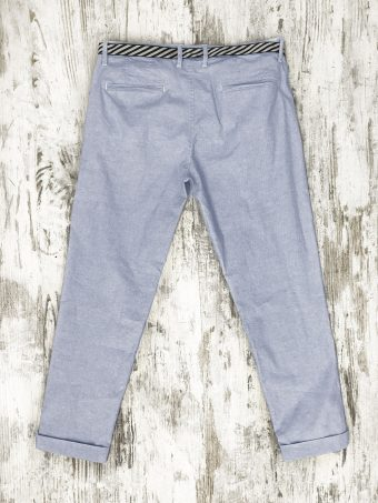 S20P018    0045 CHINO SPRING - CO/EA Light Blue - Storm Blue