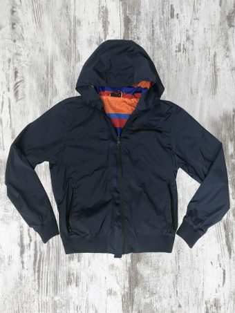 S20J002    0002 WIND JACKET STRIPES - 100% NY Dark Blue