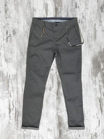 S20P002    0061 CHINO AOP02 - 98%CO 2%EA Gray