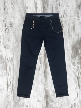 S20P007    0002 CHINO AOP07 - CO/EA Dark Blue