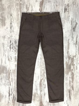 S20P015    0040 CHINO BEVERLY 02 - 20%WO 60%PL 18%VI 2%LY Brown
