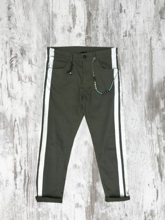 S20P023C   0071 5 POCKETS TAPE COOPER - 98%CO 2%EA Military Green
