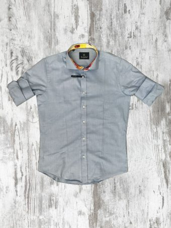 S20S013    0045 SHIRT OXFORD - 100% CO Light Blue - Storm Blue
