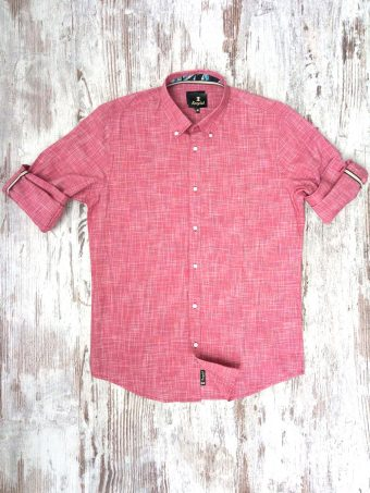 S20S026    0094 SHIRT CLEVELAND - 100% CO Red - True Red