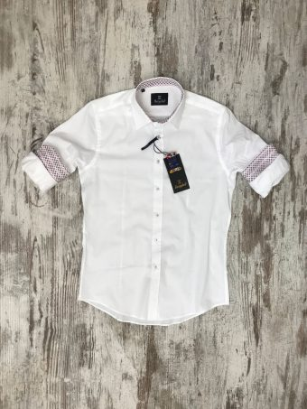 S20S038    0050 SHIRT BASIC - 97%CO 3%EA Optical White