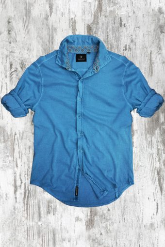 S20S048    0072 SHIRT JERSEY - 100% JERSEY CO French Blue