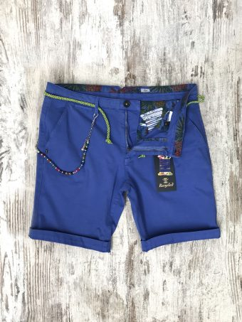 S20SH001   0028 CHINO SHORTS BASIC - CO/EA Blue - Dazzling Blue