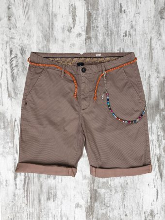 S20SH005   0067 CHINO SHORTS AOP05 - 98%CO 2%EA Rose - Woodrose