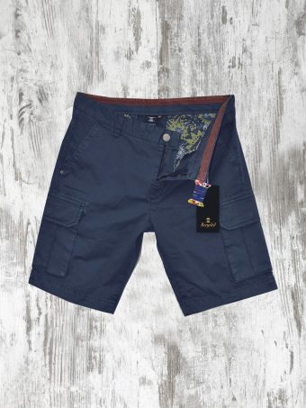 S20SH008K  0002 CARGO SHORTS PILOT - 98%CO 2%EA Dark Blue