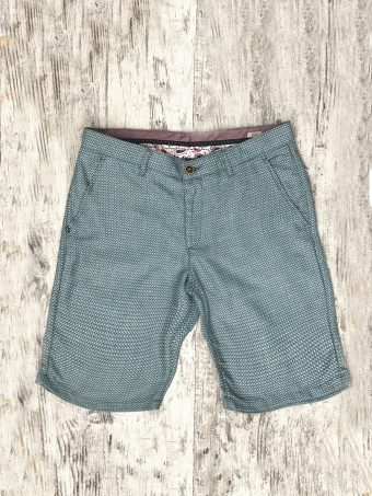 S20SH012   0005 CHINO SHORTS AFRIN - 50%CO 35%PL 15%VI Surf Blue