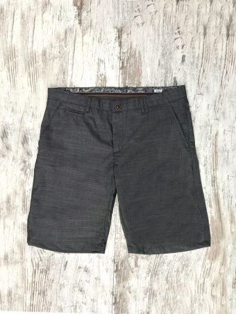 S20SH015   0001 CHINO SHORTS BEVERLY 02 - 20%WO 60%PL 18%VI 2%LY Anthracite