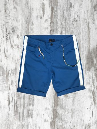 S20SH023   0072 5 POCKETS SHORTS TAPE - 98%CO 2%EA French Blue