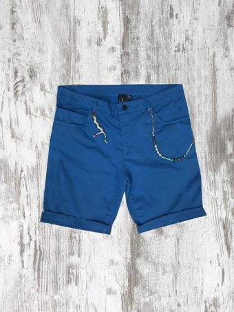 S20SH023X  0072 5 POCKETS SHORTS BASIC - 98%CO 2%EA French Blue