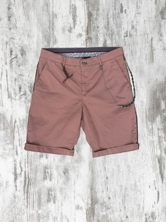 S20SH024   0067 SHORTS PIPING - CO/EA Rose - Woodrose
